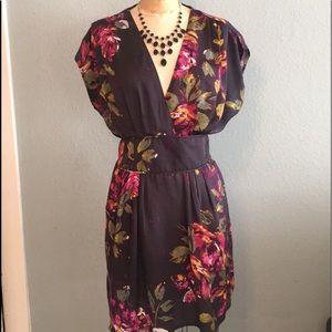 Pretty black floral O'Neill dress